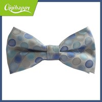 Useful popular high grade adjustable bow tie blue