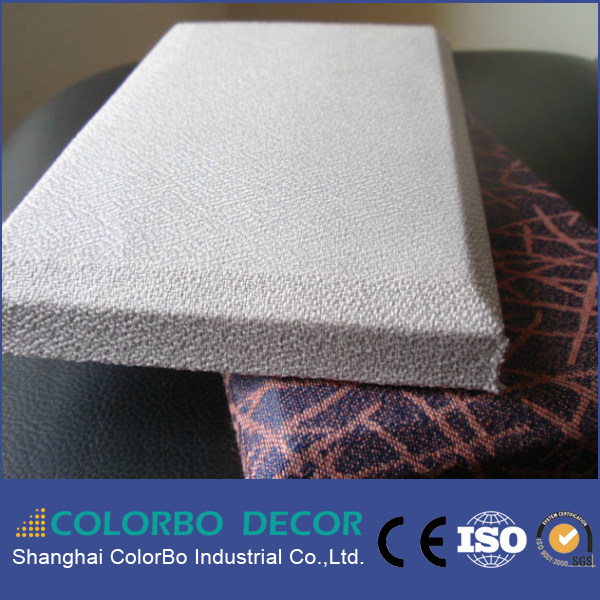leather surface fiber glass soundproof acoustic wall panels