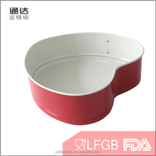 Multifunctuonal custom cupcake pans microwaves oven carbon steel pizza baking pan with lock