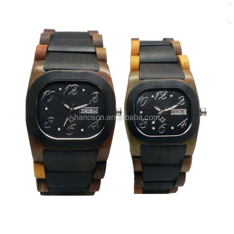 2017 Hottest selling automatic mechanical wooden watch for sale, Sandalwood wooden watch with good quality