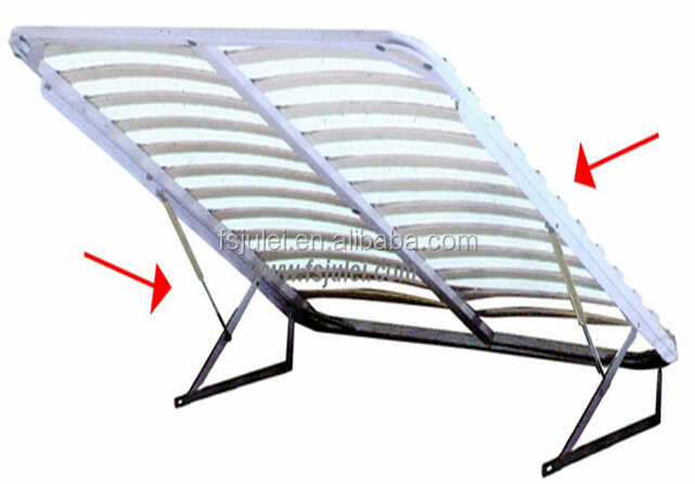 strong and good quality gas lift bed frame mechanism DJ-QD01