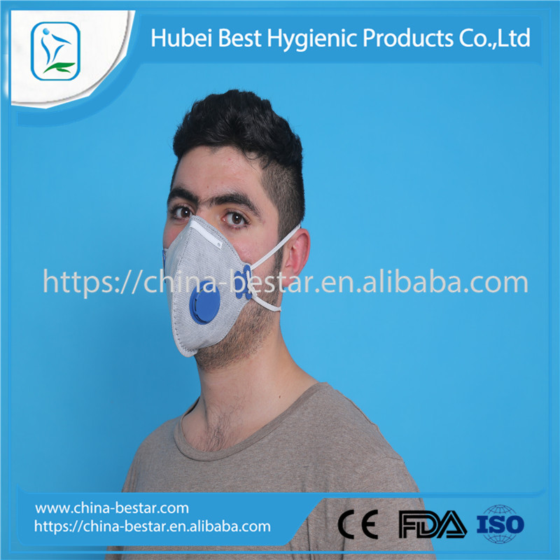 Safety and protective non woven air filter anti smoking mask
