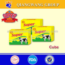 QIANGWANG FACTORY 10G*48PCS*30BOXES BEEF BROTH SEASONING CUBE FOR COOKING