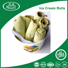 HALAL Certificate Milk Thai-Style Fried Ice Cream Rolls Powder Mix 100% Success