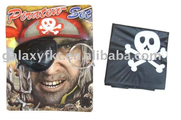 Plastic pirate toys