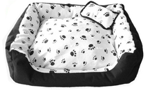 Waterproof Paw Pet Bed Washable Dog Bed
