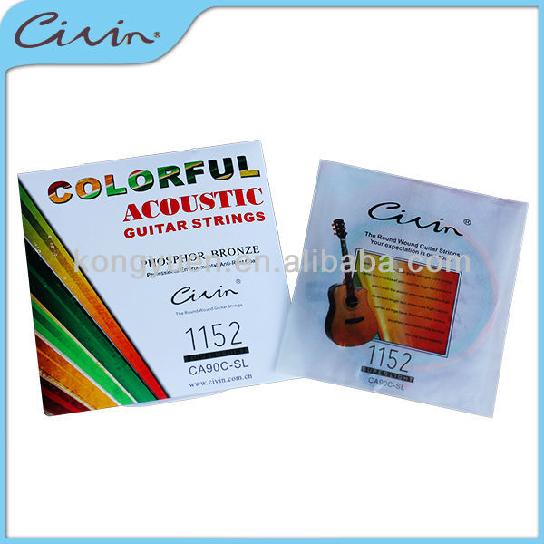 Civin pack bronze acoustic guitar strings