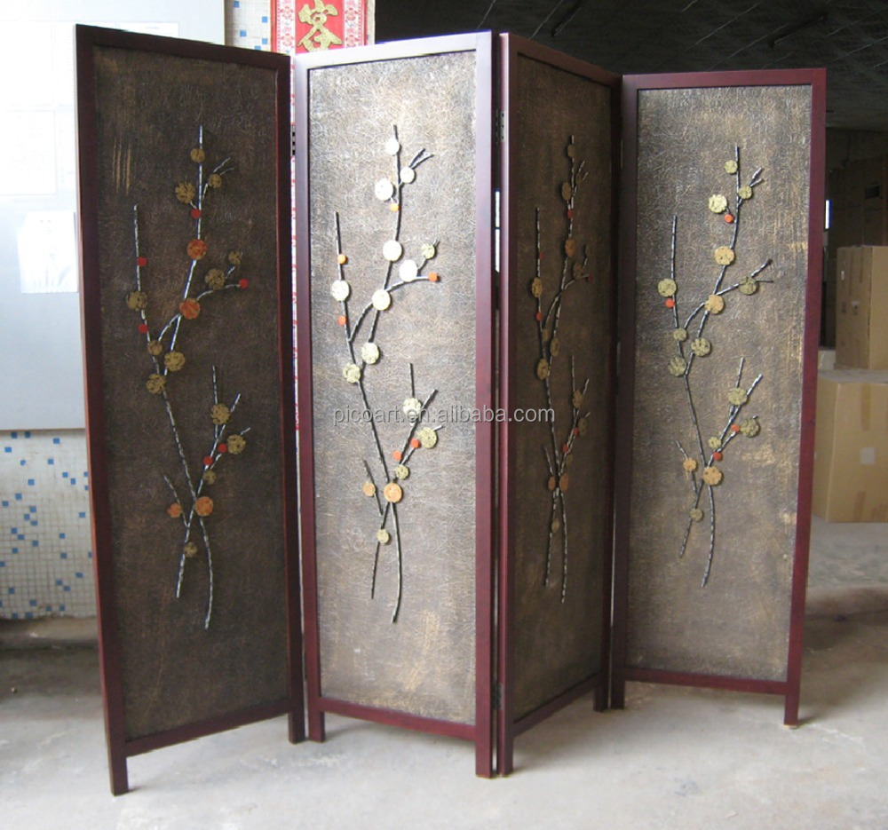 2015 new design craft Metal Screen For Devide Room, Folding Screen