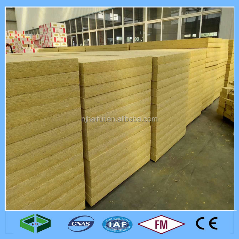 Fireproof Thermal Insulation Board Rockwool Board with CE Certificate