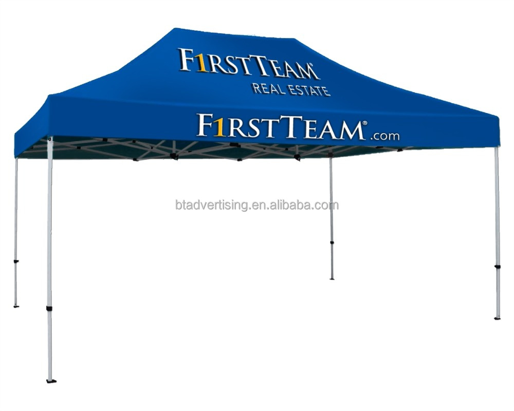 3X4.5m Custom Print Outdoor Advertising Folding Popup Canopy /Custom Printed 10X15FT Trade Show Tent Marquee