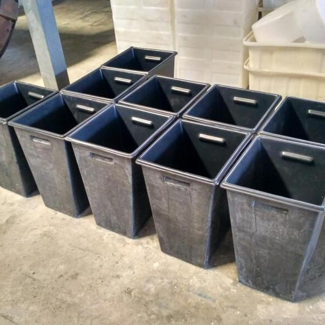 UV stablished Durable 50 Liter Plastic Trash Bin/Waste Bin/Garbage Container/Dustbin