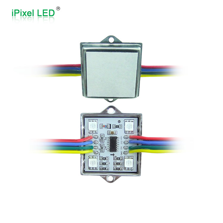 Full color 5050 rgb ws2801 led pixel module indoor full color