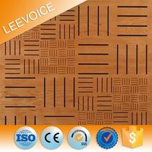 13-3 MGO composite grooved acoustic panel fireproof board