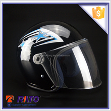 Made in China black motorcycle full face helmet