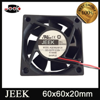 Temperature Controlled SUNON 12V DC Industrial Fan 60*20mm