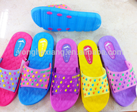 Globle selling Women EVA slippers flat loafers nude beach slippers