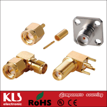 sma rg11 compression connector UL CE ROHS 262 KLS Brand