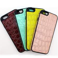Fancy phone cases wallet for iPhone 6 cover with Pu leather
