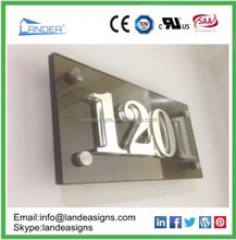 outdoor directory signage/ metal directional signs