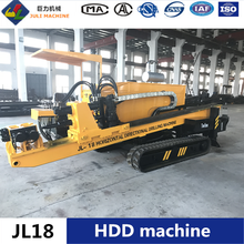 Hot sell JL18 horizontal directional drilling machine with rack and pinion structure hdd boring machine