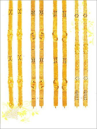 Golden jewelry 22K Solid Gold Indian Necklaces jewellery