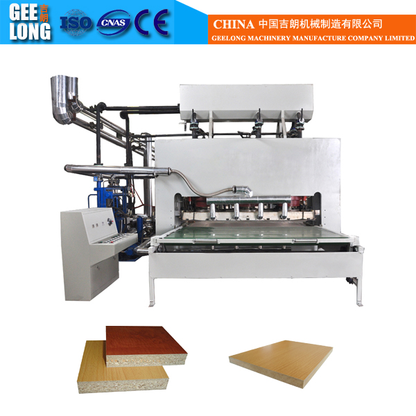 Mdf Particle Board Hot Press Laminating Machine