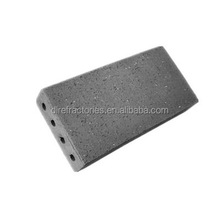 China manufacturer of grey fire paving garden bricks by air