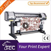 indoor 1.6m 1 pc pc3200 head cmyk heat transfer digital printer for curtain