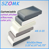 80x50X19mm plastic enclosure for electronics product