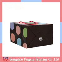 Additional Service Top-Grade Coated Paper Apparel Packaging Bag