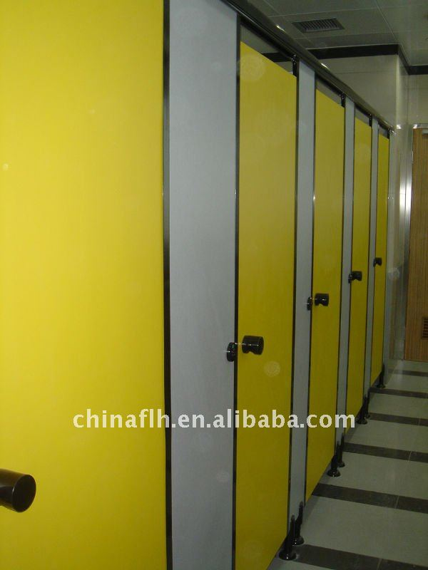 Cheap waterproof 12MM HPL Toilet Cubicle