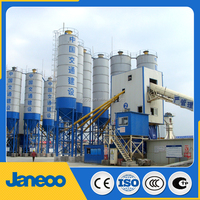 HZS120Q wet mix concrete batching plant price from alibaba China