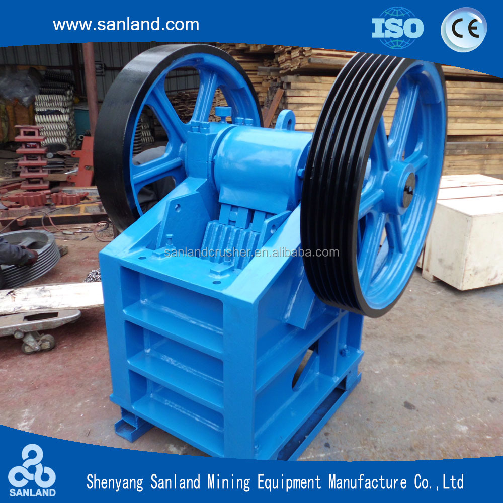 Hot selling PE Series Jaw Plate Stone Crusher for Mining Equipment