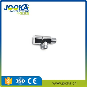 Best cheaper zinc handle chrome plated angle valve for toilet