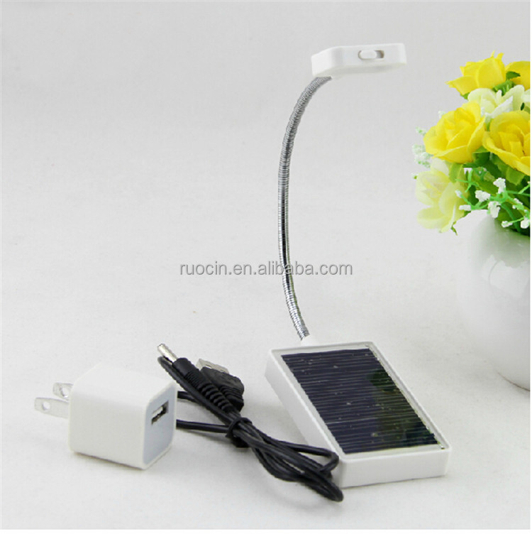 Rechargeable 3 LED Reading Light with Clip On and USB Cable Charger, Li-polymer battery