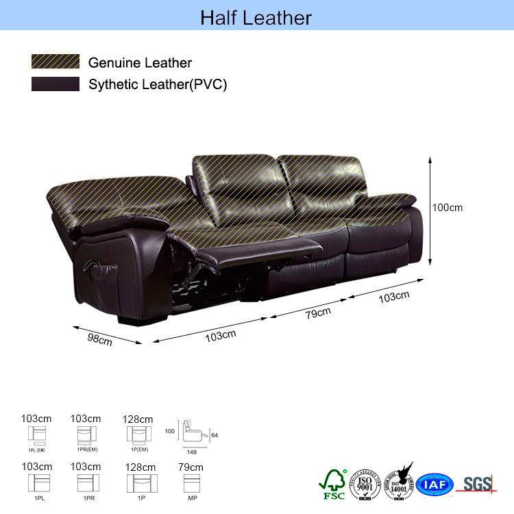 Dining room cheers style functional backrest sofa