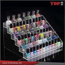 Acrylic Wall Mounted Nail Polish Display Stand