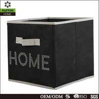 Non woven storage box/foldable storage box/fabric storage box
