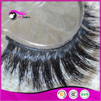 CHINA eyelashes manufacturer real horse fur eye lash horse false lashes