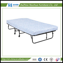 "Folding Metal Guest Bed with 5"" Mattress"
