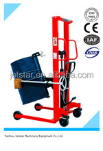 Hand Hydraulic oil drum stacker