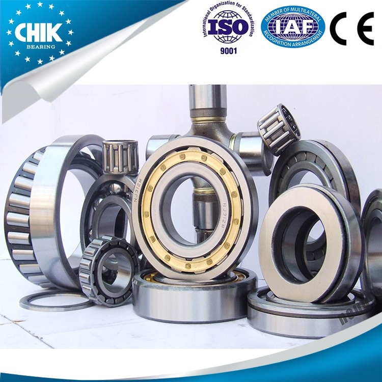 61407 Flat Cage Inch Size Needle Roller Bearings For One Way Clutch Needle Bearing