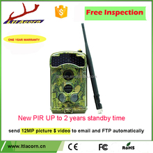Hotsale Ltl Acorn 3G gsm mms SMS hunting trail camera wholesale digital trail camera