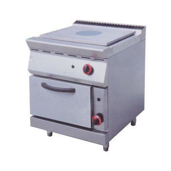 PK-JG-983A2 Gas French Hot Plate with Oven, 900 series, for Commercial Kitchen