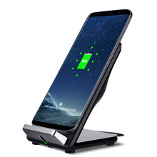 Ultra Slim Compatible Charging Pad Stand Dock Portable Fast Qi Wireless Charger