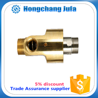 2014 40A two ways high pressure fluid coupling pipe rotary joints