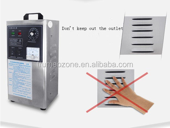 tap water ozone air feeding ozone generator Mobile water and air ozonator with timer 120min