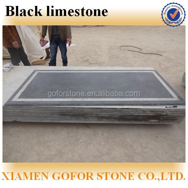 Black limestone price, black limestone slabs