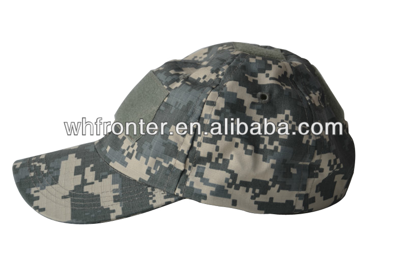 UNIVERSAL OCTAGONAL MILITARY BASEBALL CAP/ CAMOUFLAGE BONNIE HAT