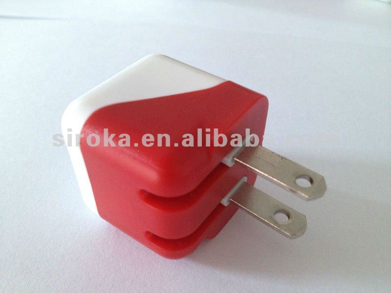 5V 800MA Folding US Plug USB Travel Charger For Mobile Phone